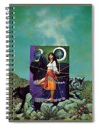 Greetings From The Otherworld Don Maitz Spiral Notebook