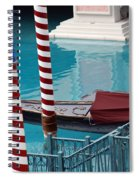 Greetings From Venice Spiral Notebook
