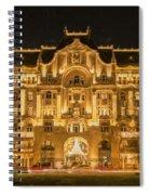 Gresham Palace Holiday Lights Painterly Spiral Notebook