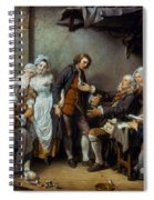 Greuze: The Village Bride Spiral Notebook