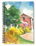 Greve In Chianti In Italy 01 Spiral Notebook