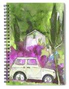 Greve In Chianti In Italy 02 Spiral Notebook