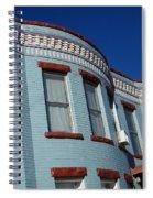 Grey Brick Spiral Notebook