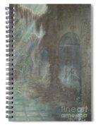 Grey Gallows Spiral Notebook