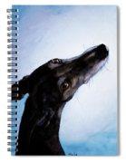 Greyhound - Always There Spiral Notebook