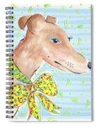 Greyhound Spiral Notebook