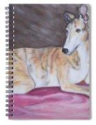 Greyhound Number 2 Spiral Notebook