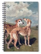 Greyhounds Spiral Notebook