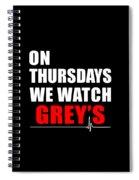 Grey's Anatomy Spiral Notebook