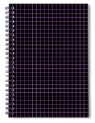 Grid Boxes In Black 30-p0171 Spiral Notebook