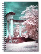 Grieving Columns Spiral Notebook