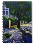 Griffith Avenue Through The Trees Spiral Notebook