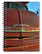 Grill Marks Spiral Notebook