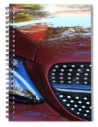 Grille  And Headlight  Spiral Notebook