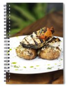 Grilled Fish With Roast Potato Herbs And Garlic Spiral Notebook