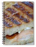 Grilled Sandwhich Spiral Notebook