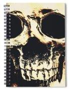 Grim Grin Spiral Notebook