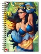 Grimm Fairy Tales - The Magic Lamp Spiral Notebook