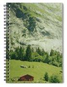 Grindelwald Switzerland 7 Spiral Notebook