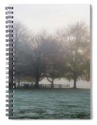 Grings Mill Fog 15-016 Spiral Notebook