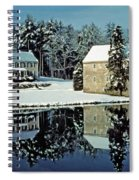 Grings Mill Snow 001 Spiral Notebook