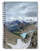 Grinnell Glacier Overlook - Glacier National Park Spiral Notebook