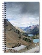 Grinnell Glacier Overlook Vista - Glacier National Park Spiral Notebook