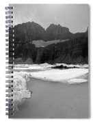 Grinnell Glacier Panorama Spiral Notebook