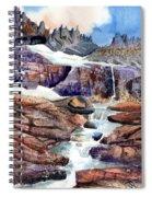Grinnell Glacier Spiral Notebook