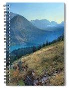 Grinnell Glacier Trail Hiker Spiral Notebook