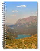 Grinnell Glacier Trail Panorama Spiral Notebook