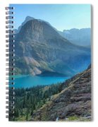 Grinnell Lake - Many Glacier Spiral Notebook