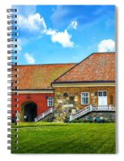 Gripsholm Castle Keep Spiral Notebook