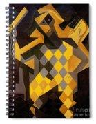 Gris: Harlequin Spiral Notebook
