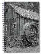 Grist Mill Spiral Notebook