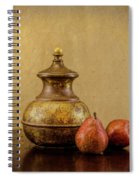Grit And Pears Spiral Notebook