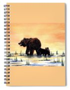 Grizzly Bears Spiral Notebook