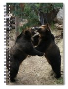 Grizzly Waltz Spiral Notebook