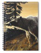 Grizzly With Cub Spiral Notebook