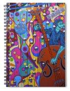 Groovy Music Spiral Notebook