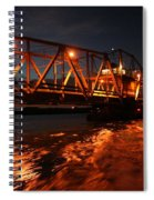 Grosse Ile Bridge  Spiral Notebook