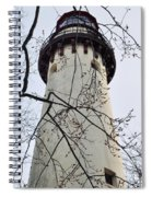 Grosse Point Lighthouse Tower Spiral Notebook