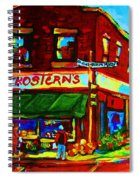 Grosterns Market Spiral Notebook