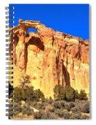 Grosvenor Arch Panorama Spiral Notebook