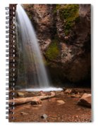 Grotto Falls Spiral Notebook