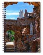 Grotto Of Redemption In Iowa Spiral Notebook