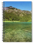 Grotto Pond Canmore Alberta Spiral Notebook