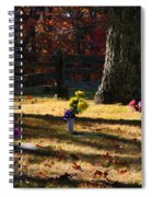 Groundhog Hill Cemetery Spiral Notebook
