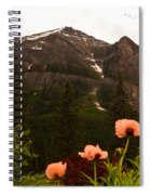 Grounds At Lake Louise Spiral Notebook
