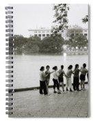 Group Massage Spiral Notebook